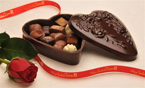 chocolate gift box belgian chocolatier piron inc