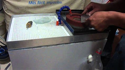 pulir vidrio maquina para pulir y biselar vidrio parte 1