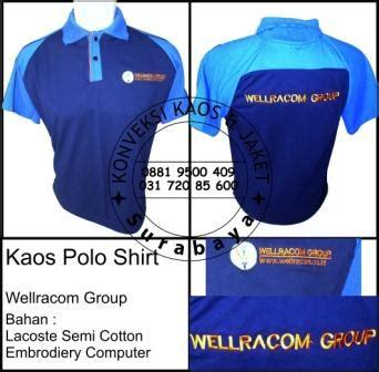 Vendor Produksi Kemeja Seragam Polo Kaos Jaket Topi Kaos Event pesanan kaos polo wellracom surabaya archives konveksi