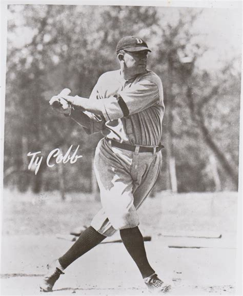 ty cobb swing ty cobb detroit tigers swing vintage 8x10 bw baseball