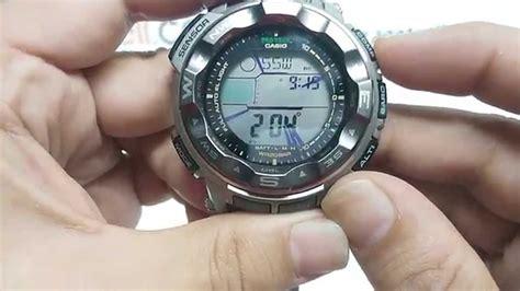 Casio Protrek Prg50 casio protrek prg 250t 7 ayarlama inceleme