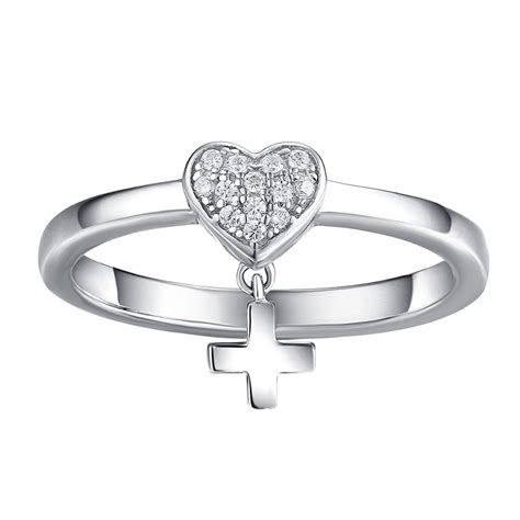 waits purity ring 925 sterling silver rings