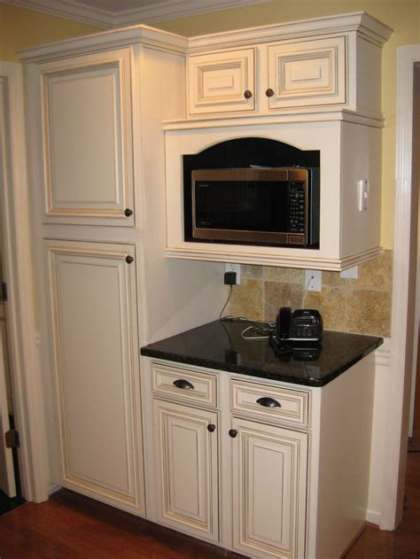 kitchen microwave cabinets 1000 ideas about microwave cabinet on pinterest built