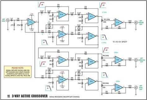 wiring diagram for speaker crossover efcaviation