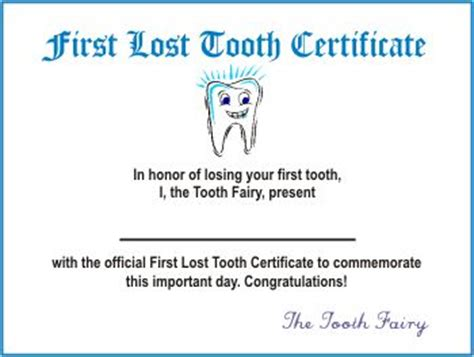 free printable tooth certificate template 25 best ideas about tooth certificate on