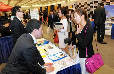 Asian Mba Career Fair 2014 by Korean Americans Worry Is Finding A