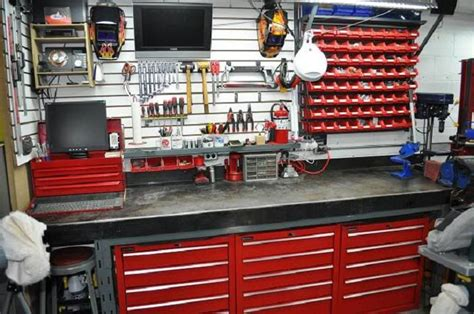 metal workshop benches the garage journal board view single post building a steel workbench shop ideas