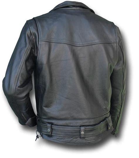 Code 125 Davida chips leather jacket silvermans
