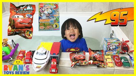 disney cars toys and japanese surprise toys lightning