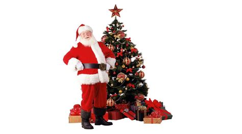 img of santa claus and x mas tree santa claus wallpapers wallpaper cave