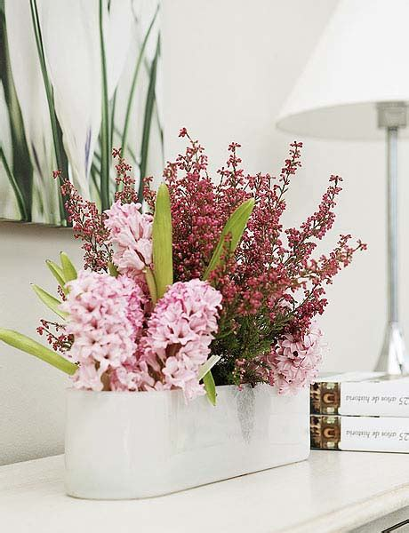 flower decoration ideas home heather flower arrangements colorful table centerpiece ideas