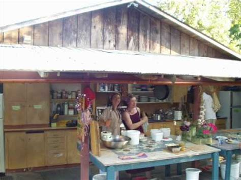 Industrial Kitchen Design Layout Outdoor Kitchens At Permaculture Farms And Ecovillages