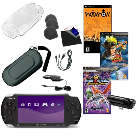sony psp game file format sony playstation portable psp 3000 piano black bundle with