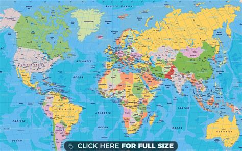 map world free world map hd wallpaper