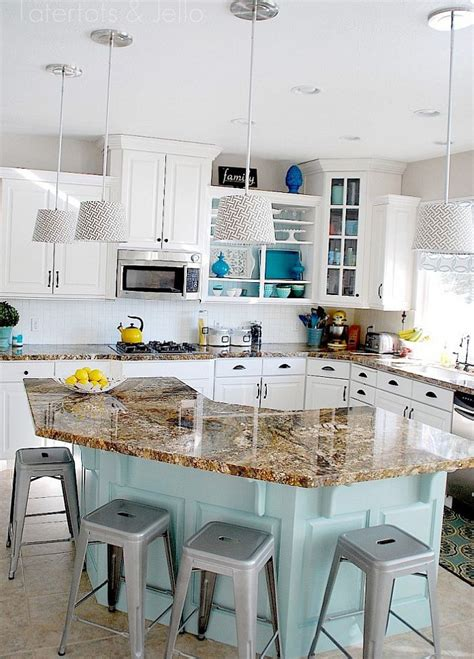 Aqua Kitchen Cabinets by 8 Low Cost Diy Ways To Give Your Kitchen Cabinets A Makeover