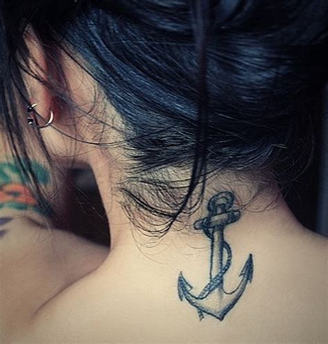 anchor tattoo behind ear meaning tattoo ideas behind ear best tattoo 2014 designs and