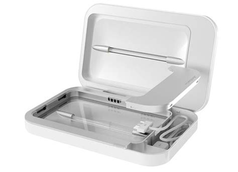 Charge Your Phone Kill Those Germs by Review Phonesoap Sanitize Your Iphone While You Charge
