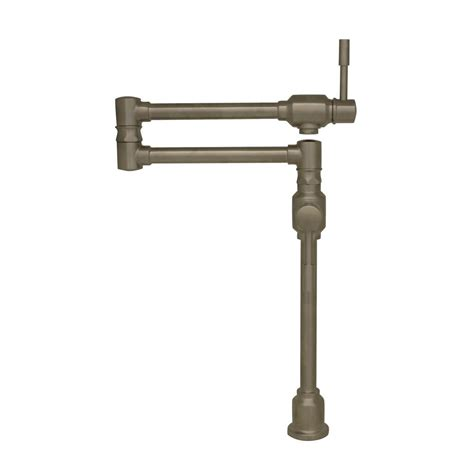 whitehaus collection englishhaus double handle deck whitehaus collection waterhaus deck mount pot filler with