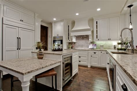 Giallo Ornamental Light Granite White Cabinets by Giallo Ornamental White Cabinets Backsplash Ideas