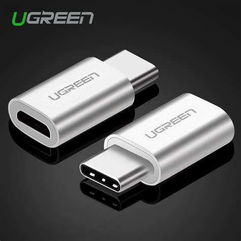 Ugreen 2 In 1 Type C N Micro Usb Cable Fast Charger Cable 50cm White buy wholesale converter samsung from china