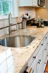 Typhoon bordeaux granite countertops traditional kitchen boston