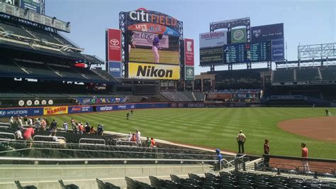 citi field section 124 citi field section 124 rateyourseats com