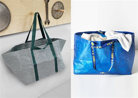 hay ikea bag the iconic ikea shopping bag gets a makeover see it now