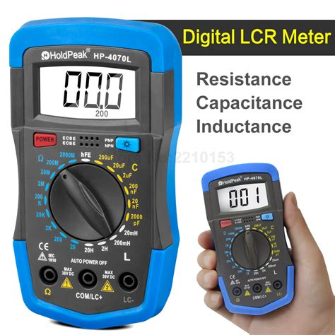 resistance capacitance inductor aliexpress buy 3 1 2 digital lcr meter resistance capacitance inductance hfe test back