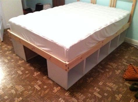 bed with storage under ikea hack storage bed home design pinterest