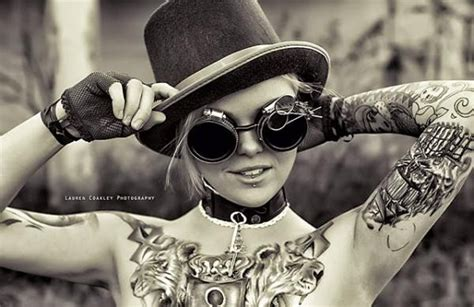 20 innovative steampunk tattoo designs golfian com