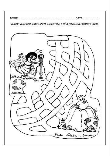 E. M. Carlota Rocha da Silva: Atividades para a fábula a