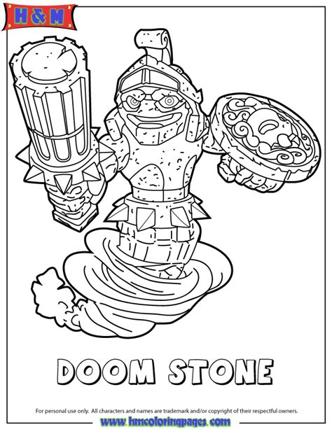 free coloring pages of skylander swap force