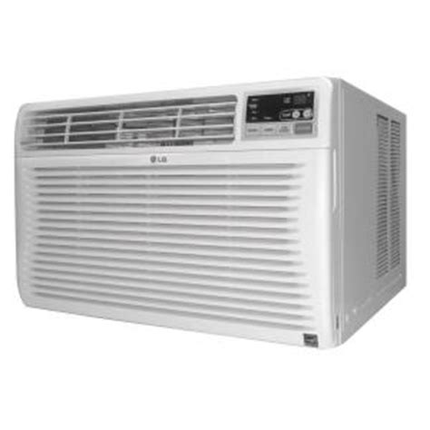 lg electronics 12 000 btu 115v window air conditioner with