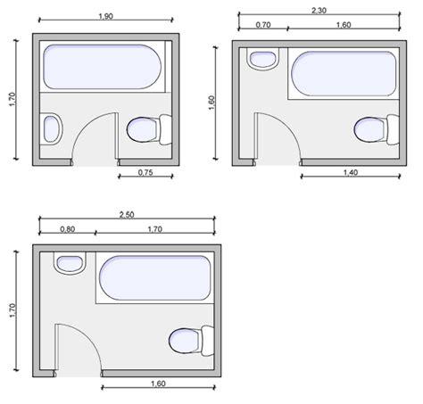 average size of a full bathroom τυποποιημένες κατόψεις λουτρών και wc