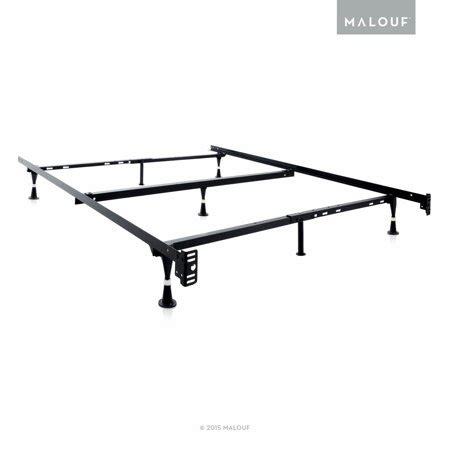 structures adjustable metal bed frame xl xl walmart