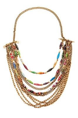 Macaw 01 Necklace eclectic jewelry and fashion trends tribal chic