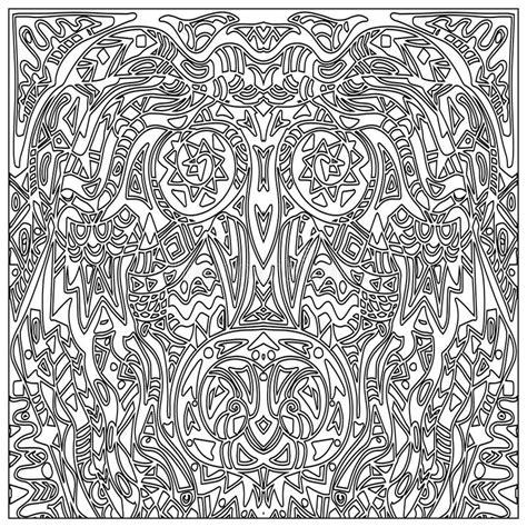 Zentangle Pattern Tribe | tribal coloring zentangle stock illustration image of