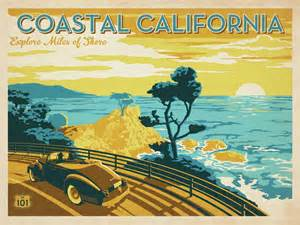 Vintage California Design Our New Line Of Prints