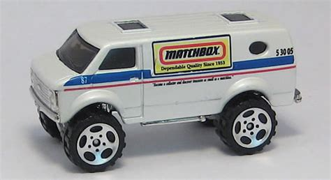 matchbox chevy van matchbox 4x4 chevy van