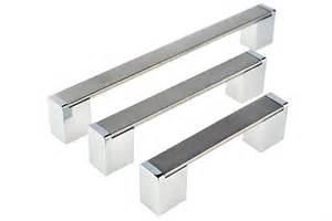 c96 southport cabinet handles in brushed stainless steel c137 caloundra cabinet handles in brushed stainless steel