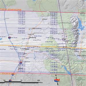 map of oregon totality best places to view total solar eclipse of aug 21 2017