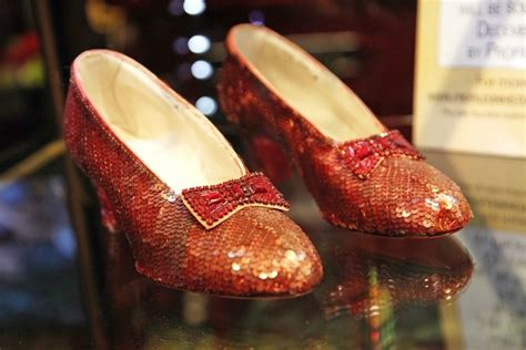 The Of The Stolen Slippers by There S A Million Dollar Reward For Dorothy S Stolen Ruby