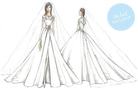 meghan markles wedding dresses imagined  davids bridal
