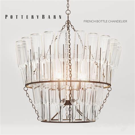 pottery barn wine bottle chandelier 3d models ceiling light potterybarn bottle chandelier