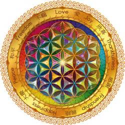 Freedom Tree Design Home Store quot the flower of life quot greeting cards by lilyas redbubble