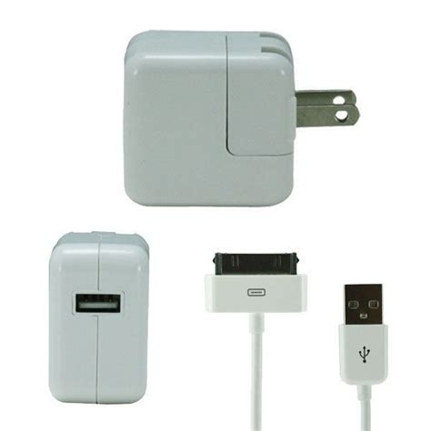 Charger 1 2 3 Iphone Ipod Ipadmini Original 100 10watt 10w usb power adapter home charger for 1st 2 3 3rd generation ebay