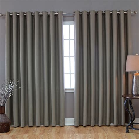 grey curtains living room modern light grey grommet top curtain for living room idea