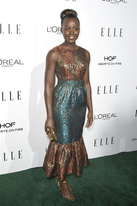 Pattern Lupita Dress lupita nyong o looks brilliant in mermaid style brocade gown