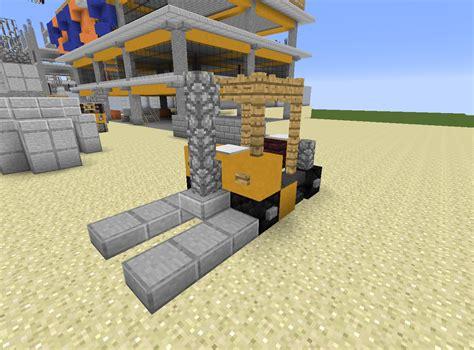 minecraft truck detail fork lift truck minecraft rebrn com