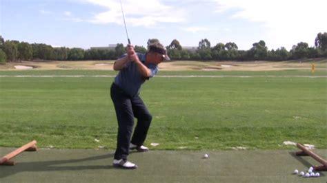 the hammer golf swing no hinge golf swing hammer man lavery youtube